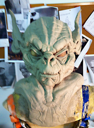 Darth Yoda WIP teaser by SculptorSteve
