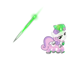 [Requested]Armored Sweetie Belle. by PureZparity