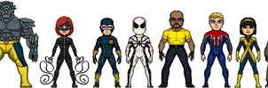 Marvel: Shattered Heroes - Series 5 by GEEKINELL