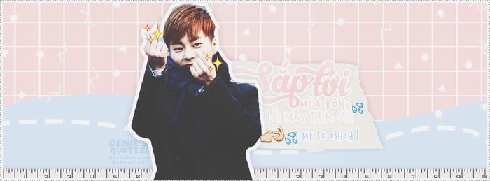 150913/ Xiumin Quotes ''Winter'' by GenieDyo