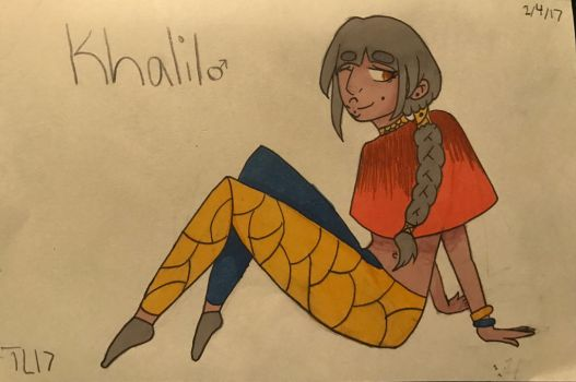 OC Profile: Khalil by Animaut