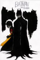 Batman And Robin by BENECILIN