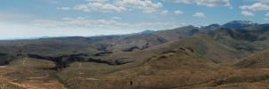 Sinker Creek Canyon and Owyhee Mountains by eRality