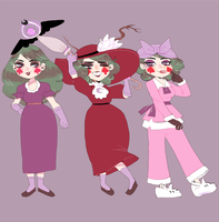 Eclipsa in all her outfits by Cyborgbird