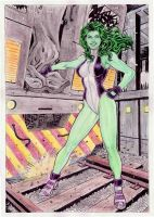 She Hulk by gregohq