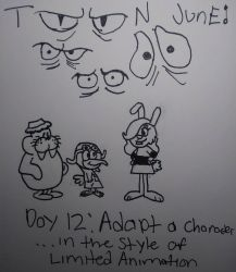 Toon June Day 12 by SecretName1010