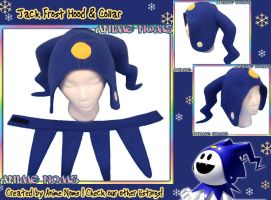 Persona Jack Frost Hood n Collar by AnimeNomNoms