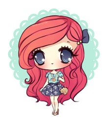 Modern Little Mermaid by mochatchi