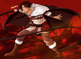 Trevor Belmont by JART-Draws