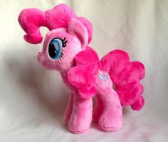 Pinkie Pie - My Little Pony Plush - For Sale. by tiny-tea-party