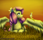 Scrap008 the Flutter Pony by smartypurple