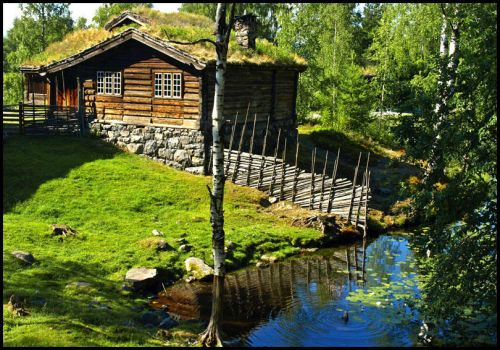 Norway - Tranquil Maihaugen by AgiVega