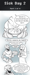UT Comic: Watch Your Health:  Part1 by AbsoluteDream