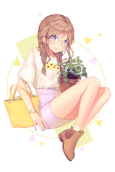 Plant Girl by 01nu