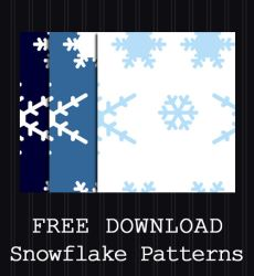 FREE DOWNLOAD - Snowflake Pattern by PointyHat