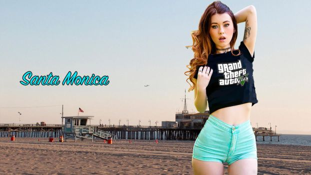 Santa Monica by andres5555