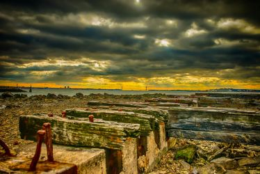 Old Rail Tracks by jus4taday