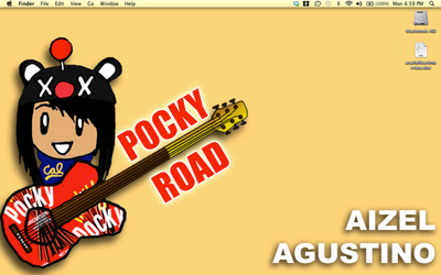 POCKYROAD Desktop by HitomiAizeru