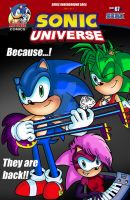 Sonic Universe N 67 Fan Cover by EliHedgie95