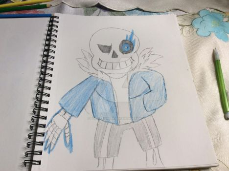 Sans by fossil-fighter
