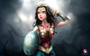 Wonder Woman by rothanavatar