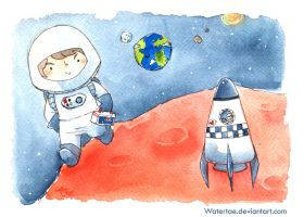 space boy by Watertae