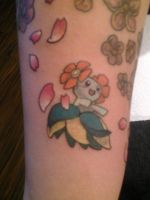 Bellossom Tattoo by Z0MB13S