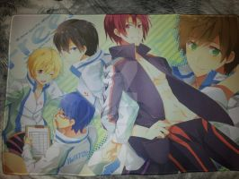 Free Iwatobi Swim Club Laptop Mat by Chibi-Butler-Snake
