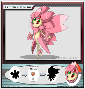 Alternative Evo: CHERRYBLOOM by PEQUEDARK-VELVET