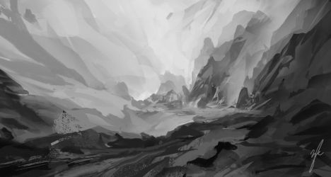Environment Speed Painting by ZacharyMcLean