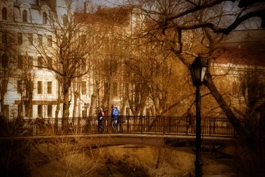 Riga City, Park Photography by KeironWest