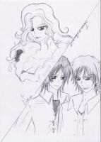 Victoria, Laurent and James by Lacus-Clyne
