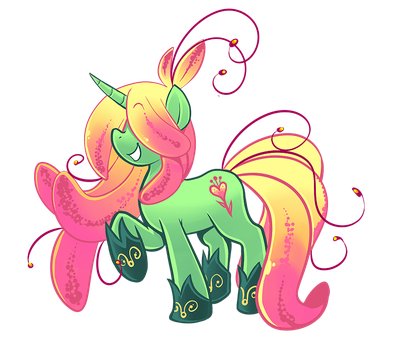 My Little Springy by Fluro-Knife