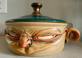 Goblinware lidded cookware by thebigduluth