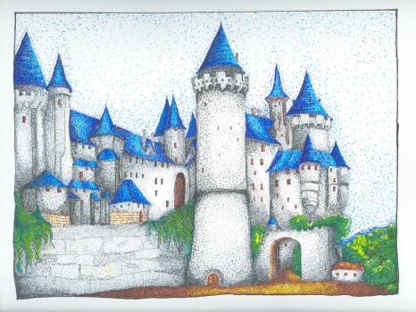 Hogwarts Castle by Luntary