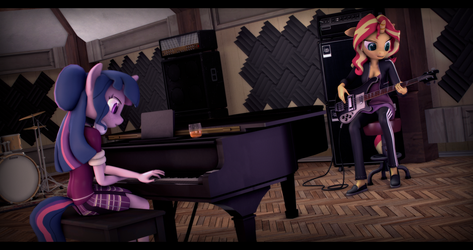 [SFM] [MLP] Recording Session by ImAFutureGuitarHero