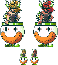 SMW Bowsette by RieyTails
