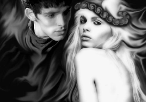 Merlin Seduced by Andrej the Ethereal Being by EmrysDragonlord