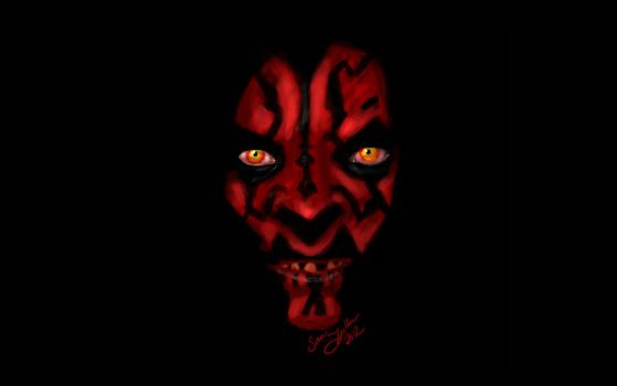 Darth Maul by thedeadbee