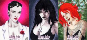 Sketch Cards: The Endless by AllisonSohn