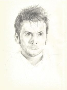 Doctor Who_ David Tennant as the Tenth by CaterinaOrlando