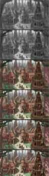 Forest Village Process by MarkBulahao