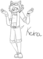 :CP: Keira the Hedgehog by ThunderElectro