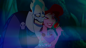 Megara and Hades by Bridney1widney