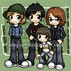 Fall Out Boy by amy-art