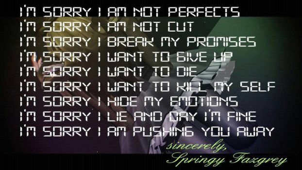 I'm Sorry  by CupcakeFactory266