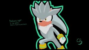Silver The Awesome Hedgehog by PilloTheStar
