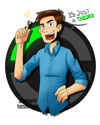Just a Theory!! // MatPat / The Game Theorists by aileenarip