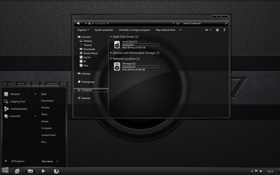 A Touch of Color-grayscale-Windows 7 version by gsw953onDA