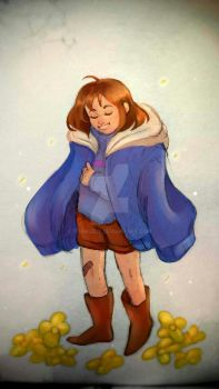 Happy Frisk by ToDaLeLy